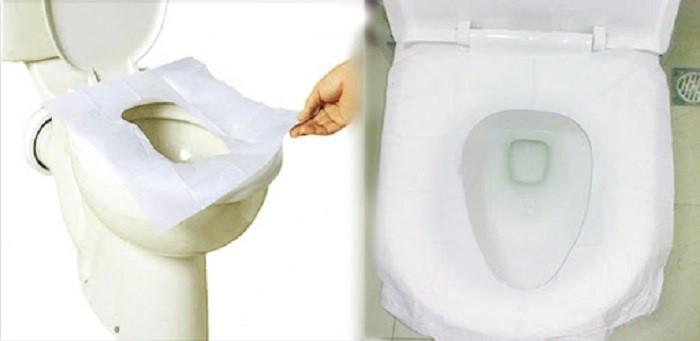 مخزن کاور توالت فرنگی