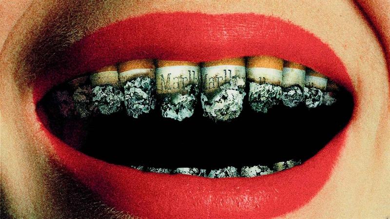 سیگار و دندان