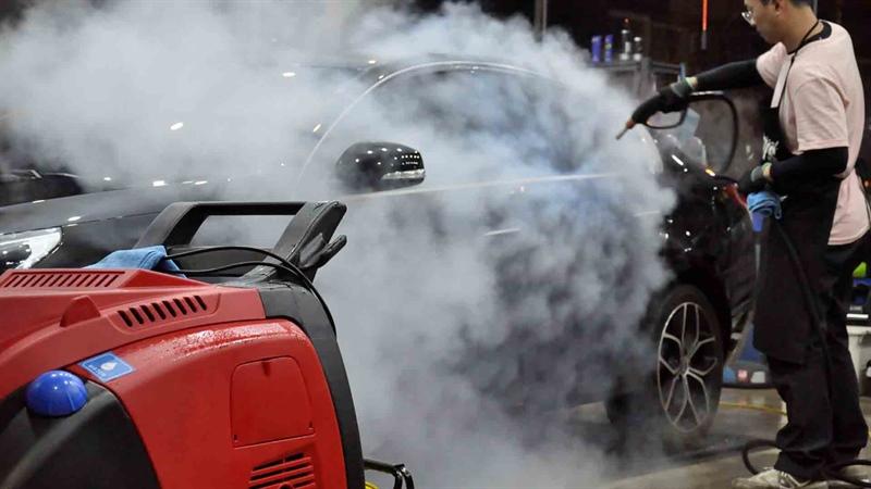 آیا هزینه کارواش بخار در محل زیاد است؟