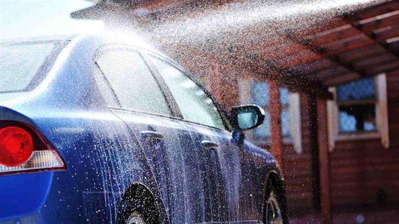 شست شوی داخل خودرو