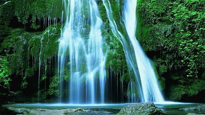 مسیر آبشار کبود وال